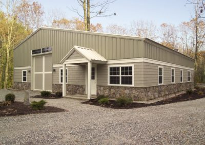 Whitaker Barn designed by Patco Commercial Construction, ME