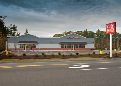 Family dollar Lee NH Building by Patco Commercial Construction, ME